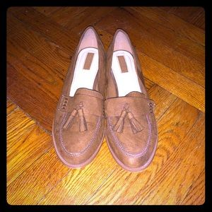 Forever 21 Tan Loafers